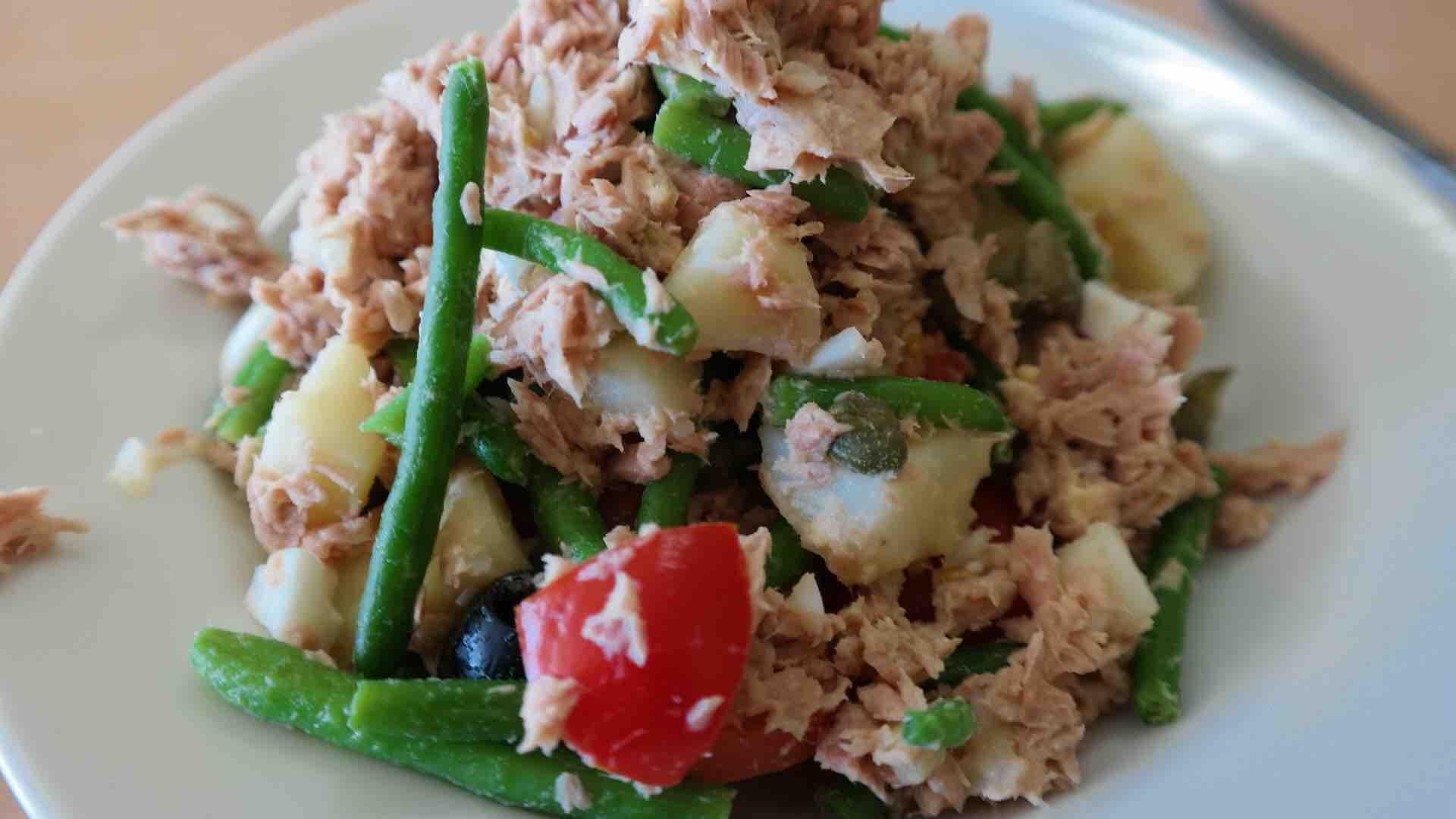 Thunfischsalate zur Gewichtsreduktion